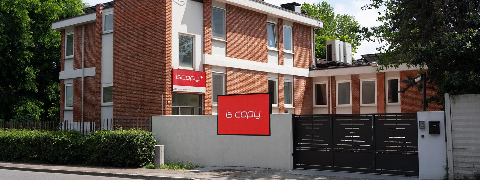 La sede di Is Copy a Trieste